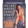Metal Wrist & Ankle Cuffs
