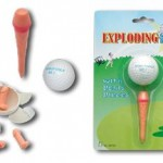 Exploding Pecker Golf Balls