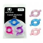 Elastomer C Ring 3 Pack