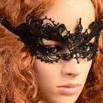 Lace Floral Masquerade Mask