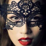 Masquerade Party Black Lace Mask