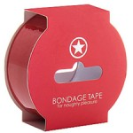 Non Sticky Bondage Tape Red