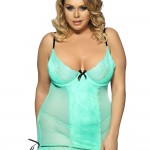 Turquoise Lace babydoll