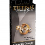 Fetish Fantasy Gold Nipple Clamps Package