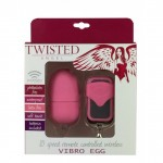 TWISTED ANGEL REMOTE VIBRO EGG PINK