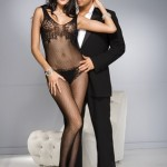 Music Legs Bodystocking 1750