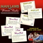 Man Laws and Women Rules
