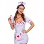 Flirty Night Nurse Costume