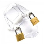 Crusher Chastity Device Clear