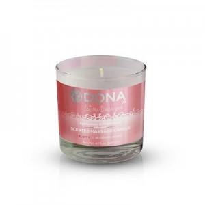 DONA scented massage candle Flirty