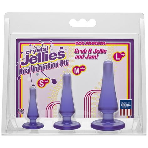 Crystal Jellies Anal Initiation Kit