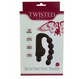 Silicone Power Beads Stimulator - Twisted Angel