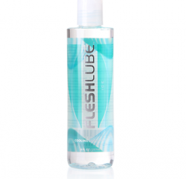 fleshlube water based lubricant with cooling effect