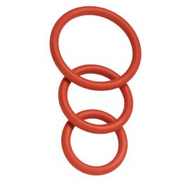 3 Pack Nitrile Cock Ring Set
