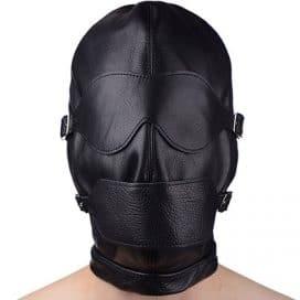strict bondage hood mask