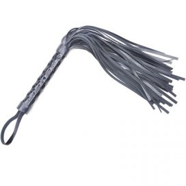 black embossed willy whip