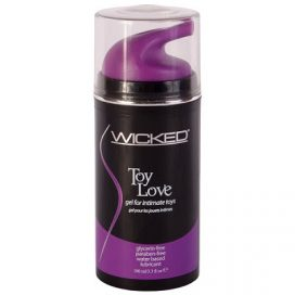 wicked toy love thicker water based lubricant f