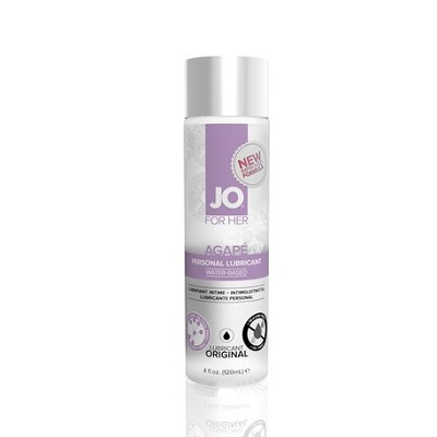 water based agape lubricant for women