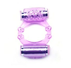 cock ring with dual vibrators
