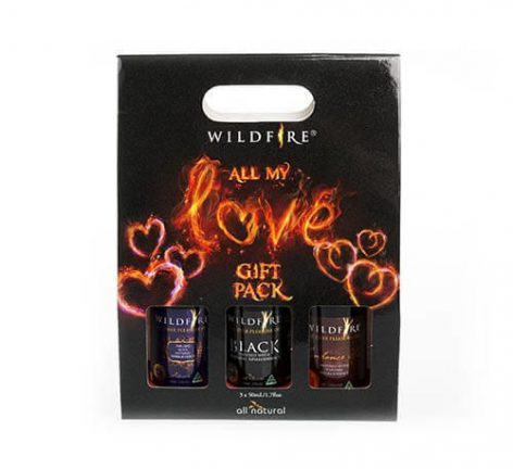 wildfire 4 in 1 all over pleasure oil gift pack