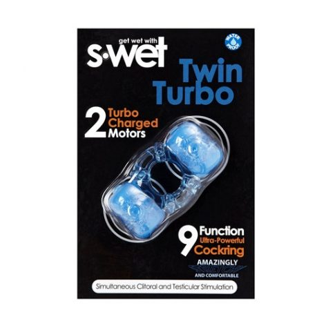 S-wet twin turbo cock ring