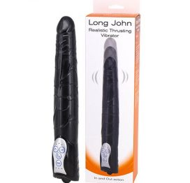 long john realistic thrusting vibrator