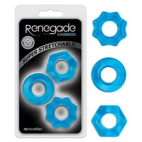 renegade chubbies stretchable cock ring