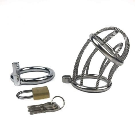 wire chastity device