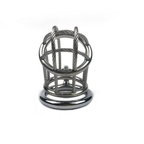 wire male chastity device