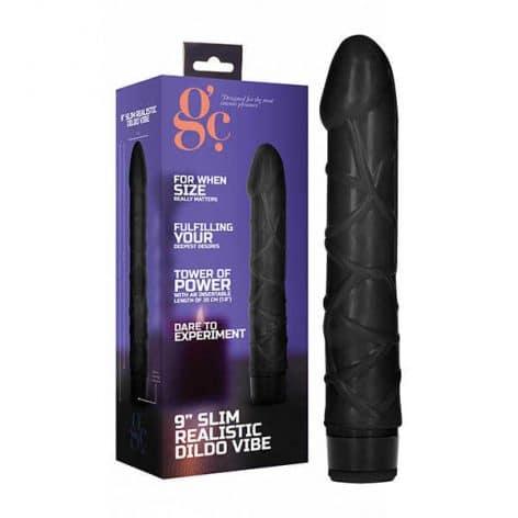 gc 9 inch realistic dildo vibrator