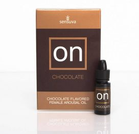 on chocolate arousal oil for her