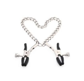 silver chain nipple clamp