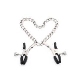silver chain nipple clamp
