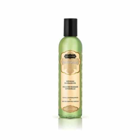 kama sutra naturals massage oil vanilla sandalwood
