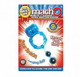 dangling balls macho erect