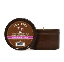 skinny dip massage candle by earthly body