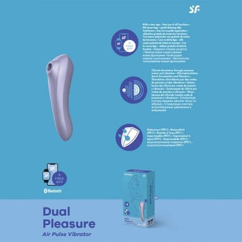satisfyer dual pleasure stimulator