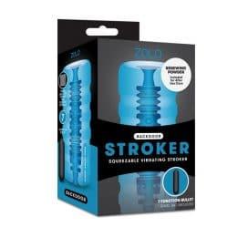 zolo backdoor squeezable vibrating stroker