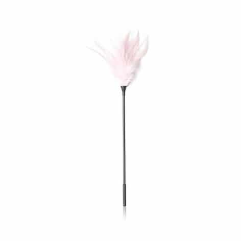 pink sensual feather tickler