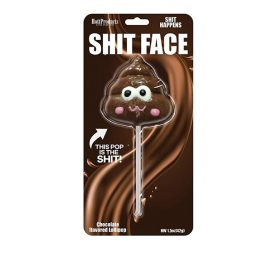 shit face lollipop