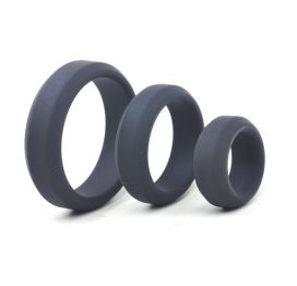 triple pack enhanced silicone cock ring