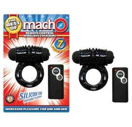 macho remote control vibrating cock ring