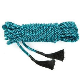 turquoise bondage rope