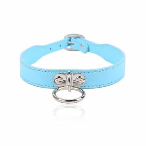 blue slim oring collar