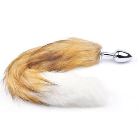 mix fox tail plug small
